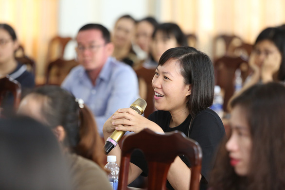VUS cùng diễn giả Thu Hà (Mẹ Xu Sim) dạy con tự lập - Ảnh 3.