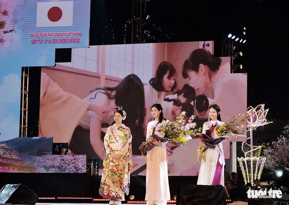 Hoa anh đào tiếp tục gắn kết văn hóa Việt - Nhật - Ảnh 1.
