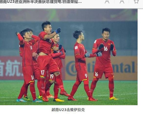 Truyền thông Trung Quốc thán phục thành công của bóng đá Việt Nam - Ảnh 1.