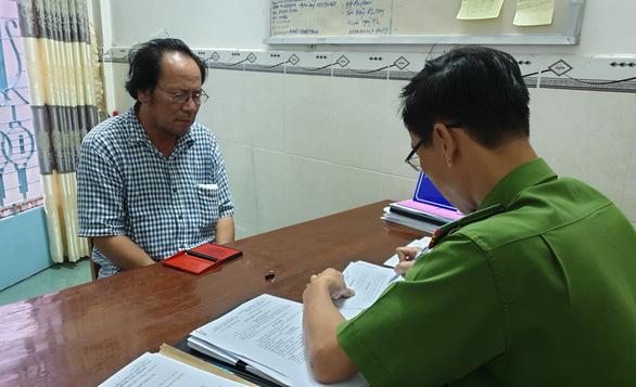 Bắt 1 người Campuchia nghi cắt cổ tài xế xe ôm người Việt - Ảnh 1.