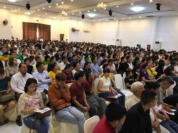 1.000 người mua đất ở Quảng Nam đòi sổ đỏ chứ không lấy lại tiền - Ảnh 1.