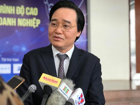Bộ trưởng Phùng Xuân Nhạ: Đừng biến sinh viên thành... robot - Ảnh 1.