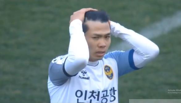 Công Phượng gây ấn tượng trong 25 phút trận Incheon thua Suwon - Ảnh 1.