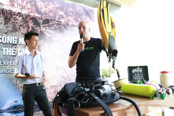 500kg hành lý phục vụ thám hiểm sông ngầm hang Sơn Đoòng - Ảnh 4.