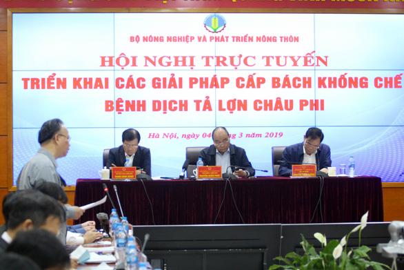 Thủ tướng đồng ý thanh toán cho dân 80% giá thị trường heo bị dịch - Ảnh 2.