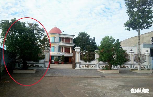 Tướng quân đội xây khuôn viên biệt thự trên đất quy hoạch làm đường - Ảnh 1.