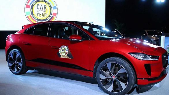 Xe điện Jaguar I-PACE được bầu chọn là 'Xe của năm 2019' - Ảnh 1.