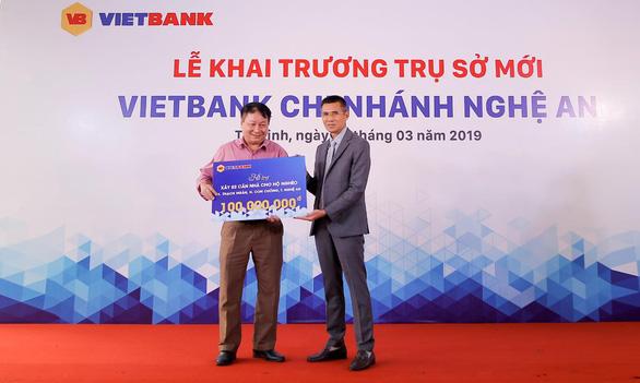 Vietbank chi nhánh Nghệ An khai trương trụ sở mới - Ảnh 2.