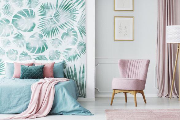 Gợi ý 3 cách làm mới phòng ngủ với giấy dán tường - Ảnh 3.