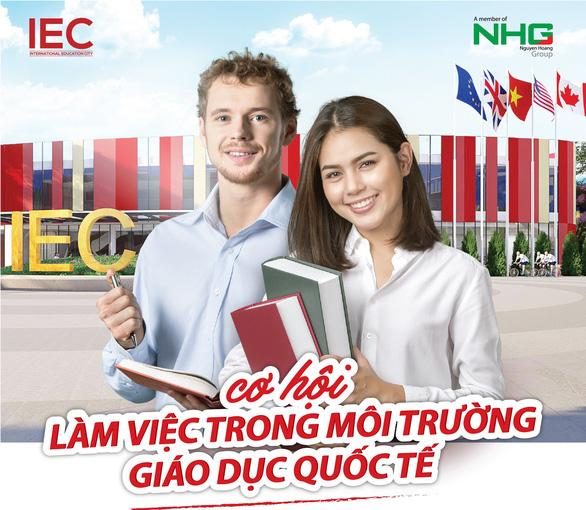 IEC Quảng Ngãi dành nhiều đãi ngộ cho giáo viên - Ảnh 2.