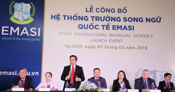 Ra mắt hệ thống trường song ngữ Quốc tế EMASI - Ảnh 1.
