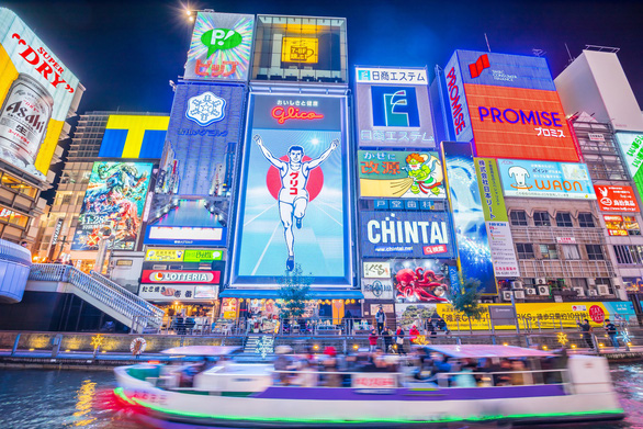 Rộn ràng Đại Lễ - Vi Vu Osaka (Nhật Bản) Bằng Chuyên Cơ - Ảnh 1.