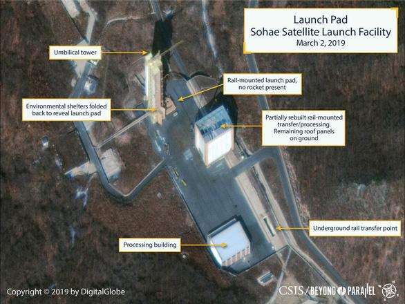 Chuyên gia chưa tin Triều Tiên khôi phục bãi phóng tên lửa  - Ảnh 1.