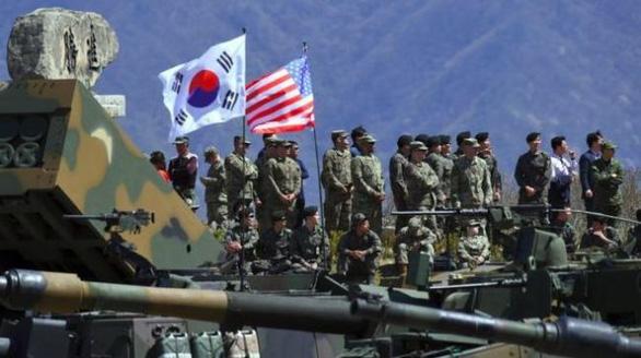 Triều Tiên: Mỹ - Hàn tập trận, vi phạm thô bạo thỏa thuận thượng đỉnh - Ảnh 1.
