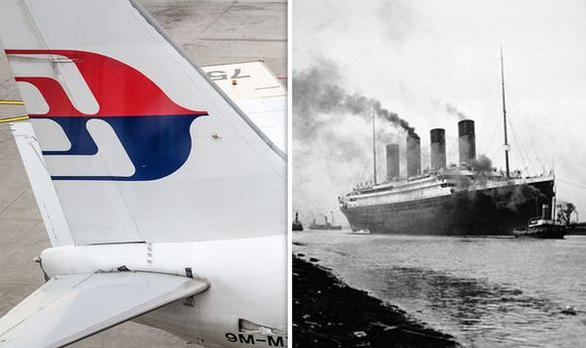 Thuyết âm mưu nói MH370 biến mất giống vụ tàu Titanic chìm - Ảnh 1.