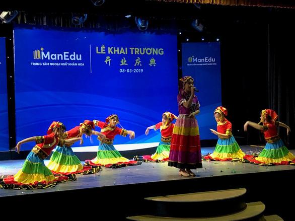 Ra mắt trường Hoa văn quốc tế ManEdu - Ảnh 1.