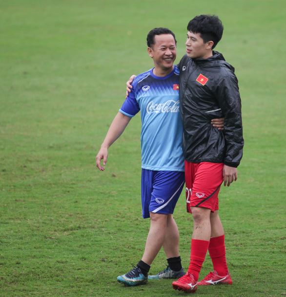 Quang Hải làm đội trưởng, trợ lý Lê Huy Khoa trở lại U-23 Việt Nam - Ảnh 3.