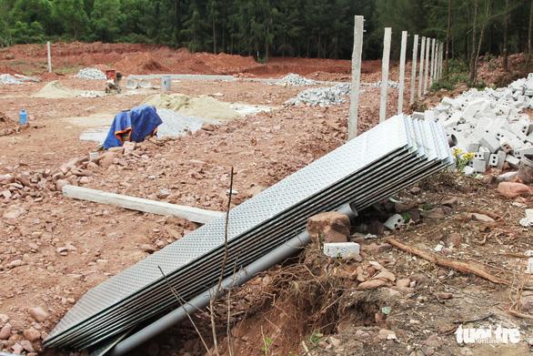 Vụ làm đầm tôm phá rừng phòng hộ: dỡ nhà xây trái phép - Ảnh 3.