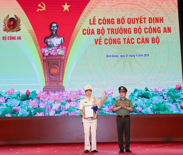 Phó giám đốc Công an Quảng Ninh làm giám đốc Công an Bình Dương - Ảnh 1.