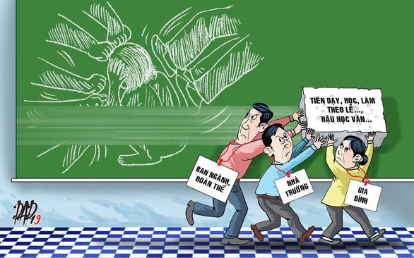 Chống bạo lực học đường: Phải sửa từ gốc - Ảnh 1.