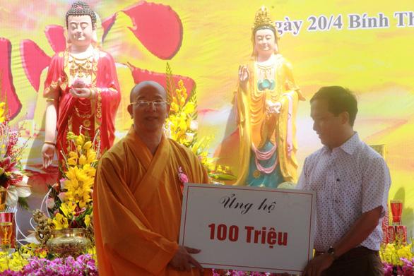 Quảng Nam nói gì về chùa Ba Vàng nhận tiền ủng hộ rồi dừng dự án? - Ảnh 3.