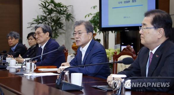 Tổng thống Moon Jae In: Mỹ - Triều quyết tâm tiếp tục đàm phán - Ảnh 1.
