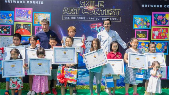 Smile Art Contest 2019: Cuộc thi vẽ tranh sáng tạo chủ đề nha khoa - Ảnh 2.
