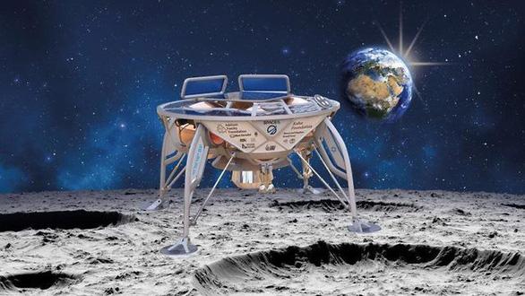 Tàu vũ trụ tư nhân đầu tiên chuẩn bị đáp xuống Mặt trăng - Ảnh 2.