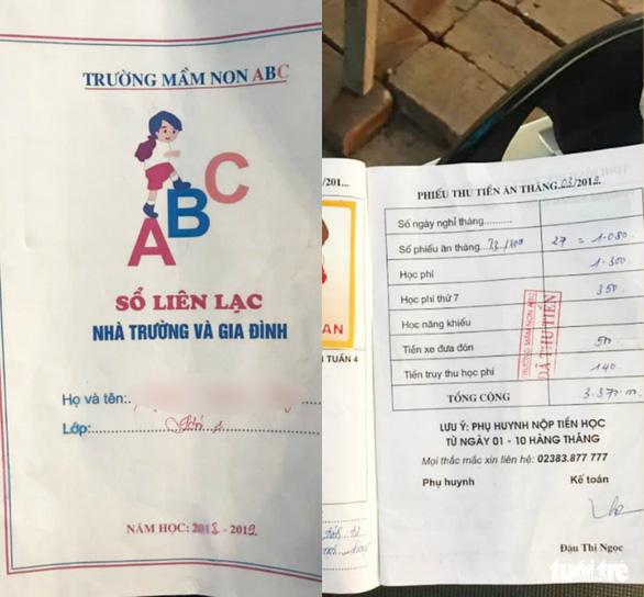 Trường mầm non buộc bé 5 tuổi nghỉ học tiếp tục tố phụ huynh thiếu nợ - Ảnh 3.