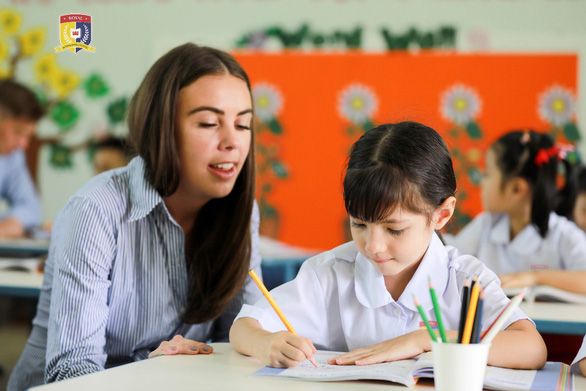 HUTECH Education giới thiệu Trường liên cấp song ngữ Quốc tế Hoàng Gia - Ảnh 2.