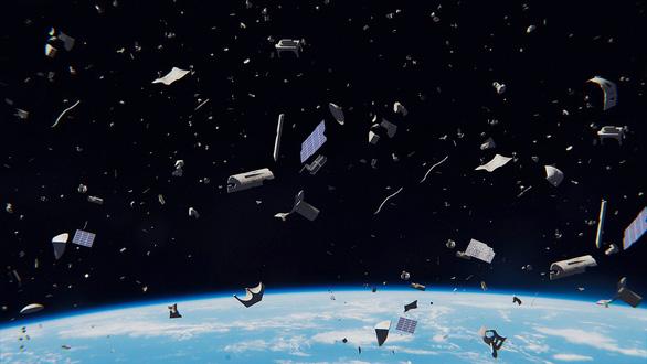 Xả ra cả đống rác vũ trụ, giờ con người lo nơm nớp - Ảnh 1.