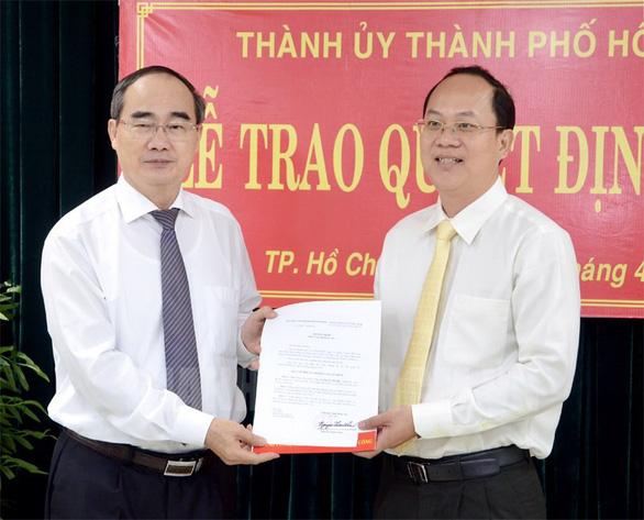 Ông Nguyễn Hồ Hải giữ chức trưởng Ban Tổ chức Thành ủy TP.HCM - Ảnh 1.