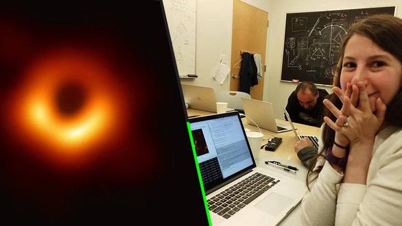Chân dung nữ kỹ sư 29 tuổi góp công tạo bức ảnh hố đen vũ trụ - Ảnh 3.