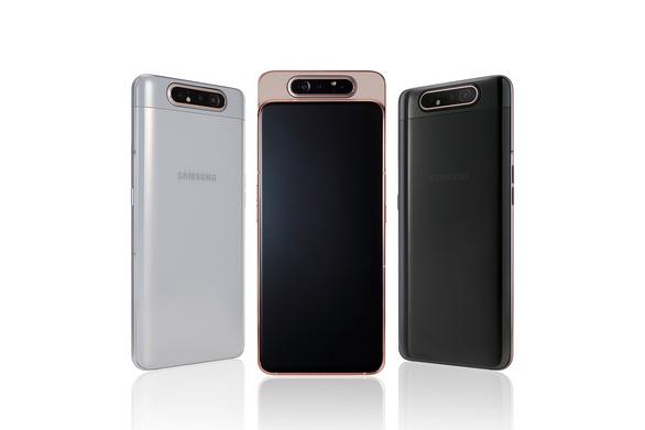 Samsung trình làng chiếc điện thoại thông minh có camera trượt xoay 360 độ - Ảnh 1.