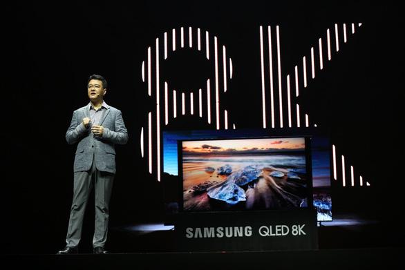 Samsung ra mắt tivi QLED 8K đầu tiên trên thế giới - Ảnh 2.