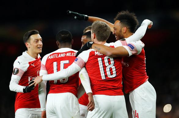 Đá bại Napoli 2-0, Arsenal chiếm ưu thế lớn - Ảnh 1.