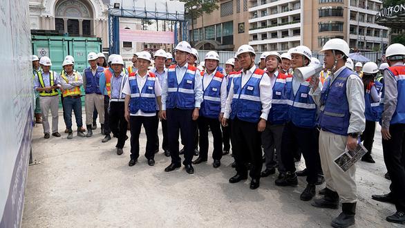 Thủ tướng: Phải hoàn thành dự án metro số 1 cuối năm 2020 - Ảnh 3.