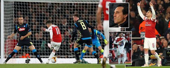 Đá bại Napoli 2-0, Arsenal chiếm ưu thế lớn - Ảnh 3.