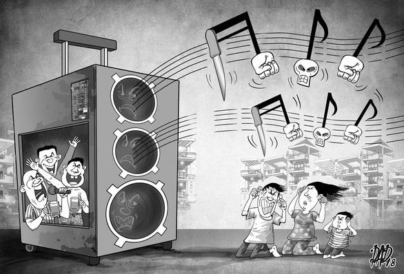 TP.HCM nghiên cứu cách dẹp tiếng ồn karaoke và 'đinh tặc' - Ảnh 1.