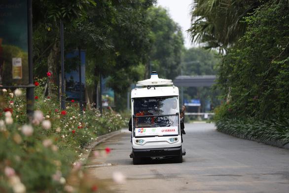 Khu đô thị đầu tiên của Việt Nam thử nghiệm xe tự lái - Ảnh 3.
