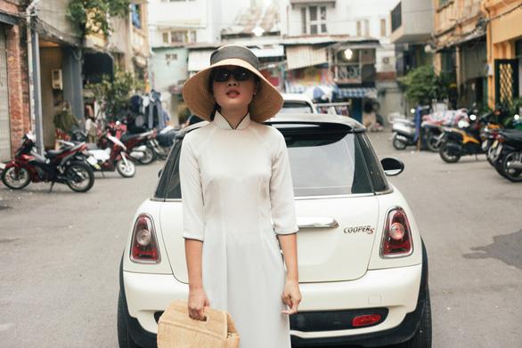 Hải Minh - cô gái nhỏ và thời trang bền vững từ cói - Ảnh 3.