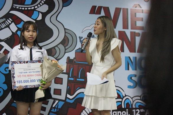 'Gói' Sài Gòn trên xích lô, cô gái mồ côi thắng giải gần 200 triệu đồng - Ảnh 2.