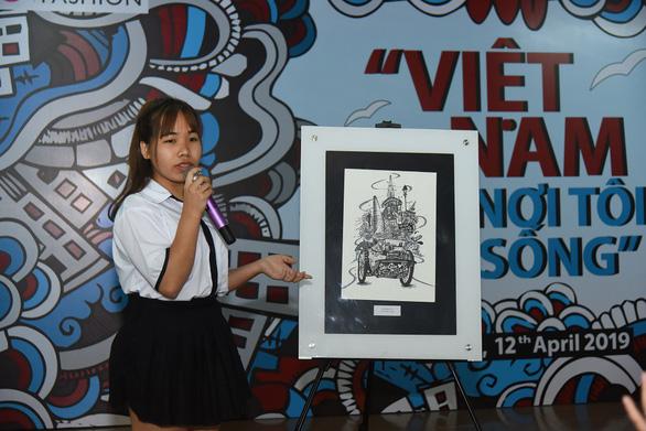 'Gói' Sài Gòn trên xích lô, cô gái mồ côi thắng giải gần 200 triệu đồng - Ảnh 3.