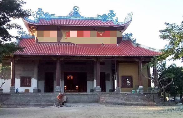 Nam thanh niên vào chùa chém sư thầy trụ trì - Ảnh 1.