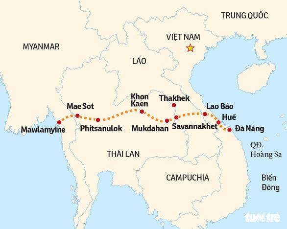 Những nhịp cầu phát triển Đà Nẵng - Kỳ 6: Gạch nối trên hành lang xuyên Á - Ảnh 2.