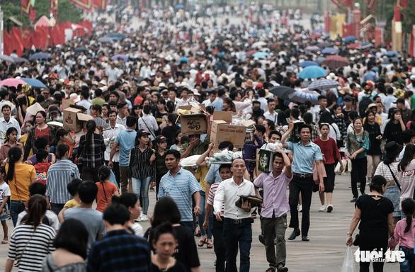 Hơn 500.000 mâm cỗ cúng vua Hùng ngày giỗ Tổ - Ảnh 1.