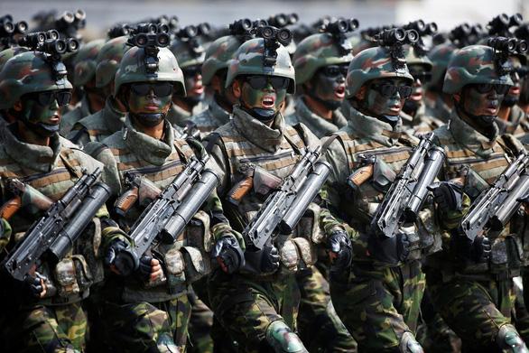 Ông Kim Jong Un: Muốn có hòa bình, phải có quân đội mạnh - Ảnh 1.