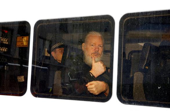 Ông trùm WikiLeaks bị bắt, vì sao?  - Ảnh 1.