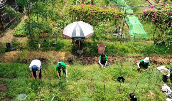 Về vườn để học sống thuận theo tự nhiên - Ảnh 1.