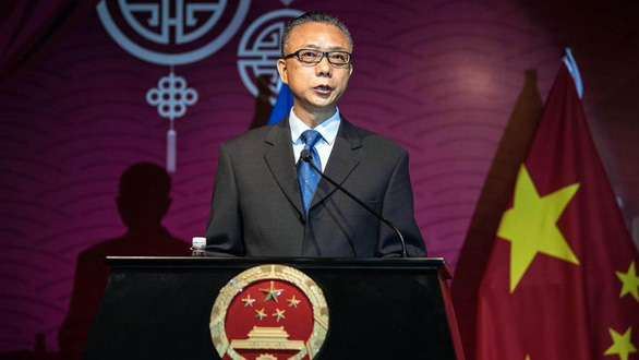 Trung Quốc chỉ trích ngoại trưởng Mỹ mất trí, đạo đức giả - Ảnh 1.
